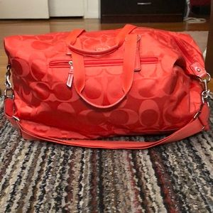 Authentic Coach Duffel bag